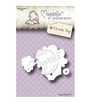Magnolia Special Moments DooHickeys Dies Cloudy Tag