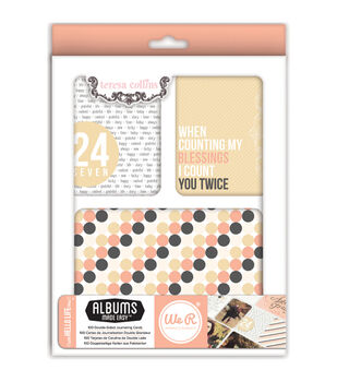 Teresa Collins albums Made Easy Journaling Cards 100/Pkg-Hello Life