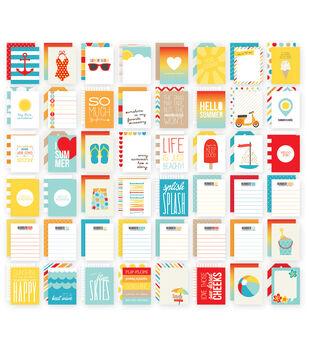 Simple Stories 3X4 48/Pkg - Summer Snap Card Pack