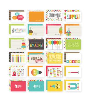 Simple Stories 4X6 24/Pkg - Birthday Snap Card Pack