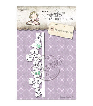 Magnolia Lost & Found DooHickeys Dies-Spring Flower Lace