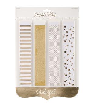 Teresa Collins Studio Gold Foiled Banner Kit 40/Pc-Paper Chain