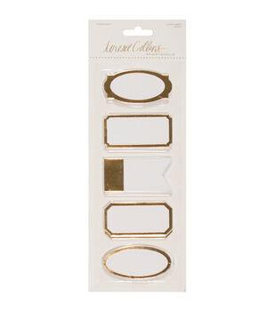 Teresa Collins Studio Gold Sticky Labels 50/Pkg