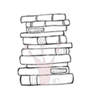 Magnolia Fall Tilda's Books Cling Stamp