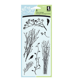 Inkadinkado® Clear Stamps-Delicate Branches
