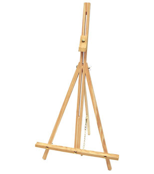 Simply Art Natural Wood Table Easel