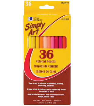 Simply Art Colored Pencils 36Pk-Assorted Colors
