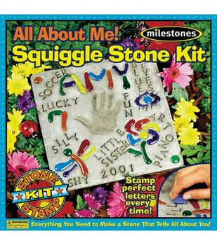 All About Me Squiggles Stepping Stone Kit