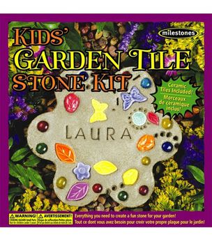 MilestonesKids Garden Tile Stepping Stone Kit