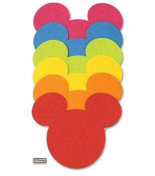 Disney Journaling Cards-6PK/Mickey Icon