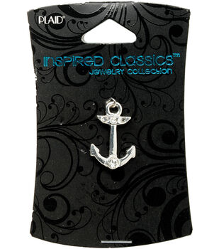Plaid Inspired Classic Charm 1/Pkg-Anchor