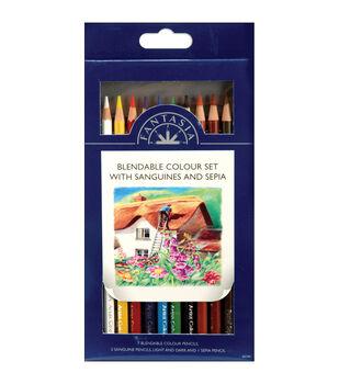 Proart Fantasia Pencils-10PK/Blendable Color