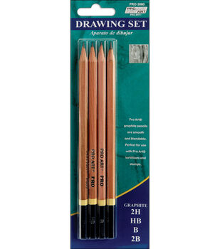 Proart Drawing Pencils-4PK