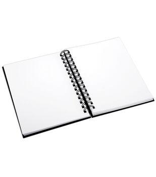 Proart 8-1/2''x11'' Spiral Bound Sketch Book