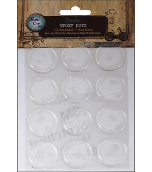 "Vintage Collection Standard Epoxy Dots 1"" 12/Pk-"