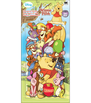 Disney Chipboard Embellishments-Winnie The Pooh