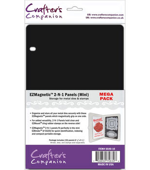 Crafter's Companion EZMagnetic 2-N-1 Storage Panels Mini