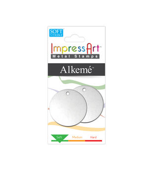 "Stamping Blank Circle with Hole 1.25"" 2/Pkg-Alkeme"