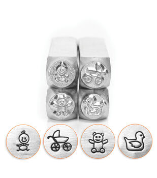 Design Stamp Pack 4pc-Baby