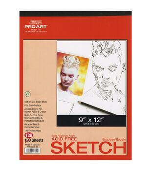 "Pro Art Sketch Pad 9""X12"""
