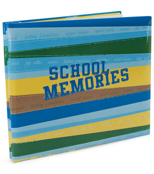 12''x12'' Postbound Album-School Memories