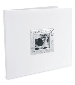 12''x12'' Expressions Postbound Album-Wedding