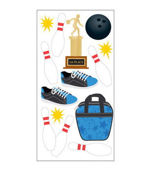 Sandylion Dimensional Stickers-Bowling