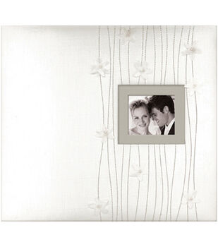 K & Company 12''x12'' Postbound Album-Forever Yours