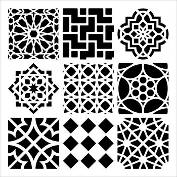 Moroccan -templates 12x12