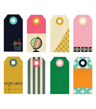 Fancy Pants Small 8/Pk - As You Wish Decorative Tags