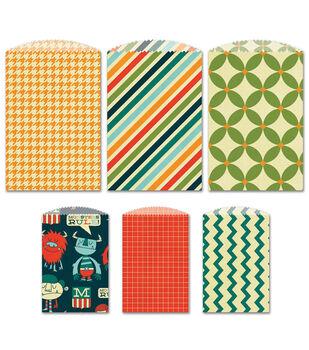 Fancy Pants 6/Pkg - Be Different Decorative Bags
