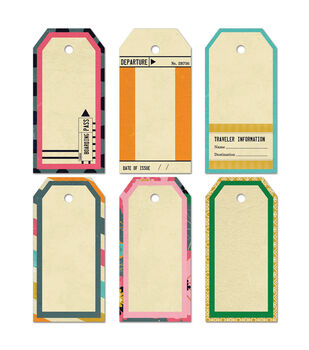 Fancy Pants Large 6/Pk - As You Wish Decorative Tags