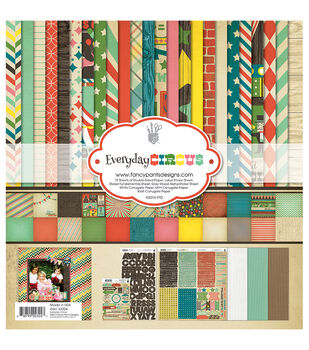 """Fancy Pants Designs Collection Kit 12""""X12""""-Everyday Circus"""