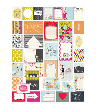 "Me.ology Brag Cards 36/Pkg-(12) 4""X6"" & (24) 4""X3"""