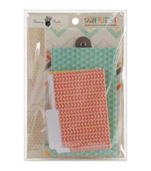 Fancy Pants True Friend Patterned Envelopes And Folders