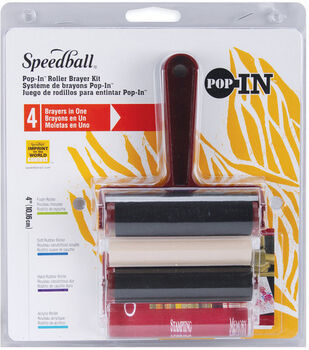 Speedball Pop-In Roller Brayer Kit