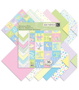 K &Company Snuggle Bug Double-Sided Paper Pad 12''x12''