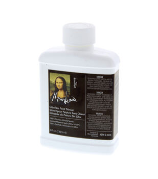 Mona Lisa Odorless Thinner-8 oz.