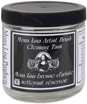 Mona Lisa Artist Brush Cleaning Tank