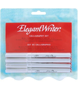 Elegant Writer Calligraphy 4 Pen Set Black