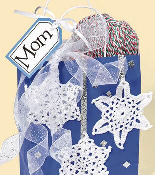 Crocheted Embellishments for Gift Bag