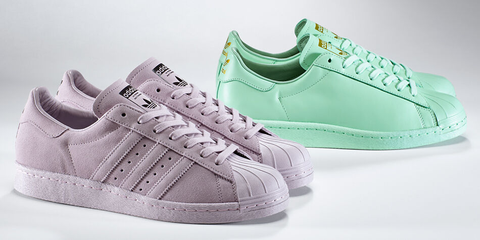 Adidas Superstar Rose Pale Daim