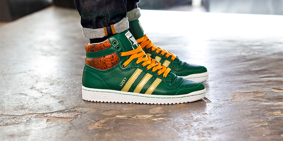 adidas top ten verdi