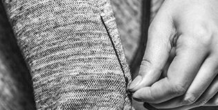 The hidden zipper