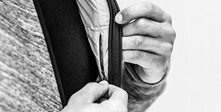 Vrecko na hrudi