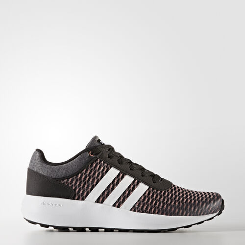 adidas - Cloudfoam Race Shoes Core Black/Footwear White/Trace Pink BB9845