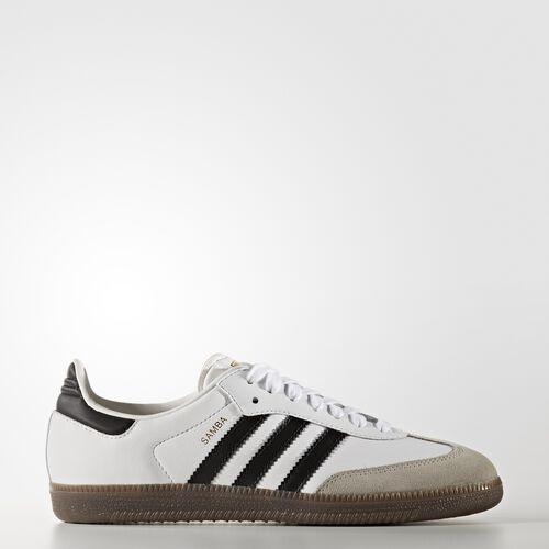 adidas - Buty Samba Shoes Footwear White/Core Black/Gum BB2540