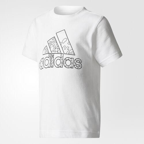 adidas - Draw-On-Me Tee White/Black CF1258
