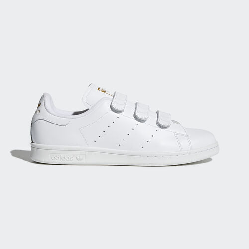 adidas - Stan Smith Schuh Footwear White/Gold Metallic S75188