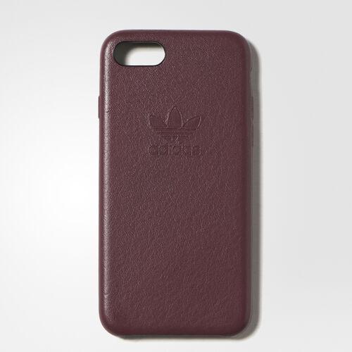 adidas - Leather Slim Case iPhone 7 Burgundy CH8800
